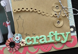 She is Crafty Detail
